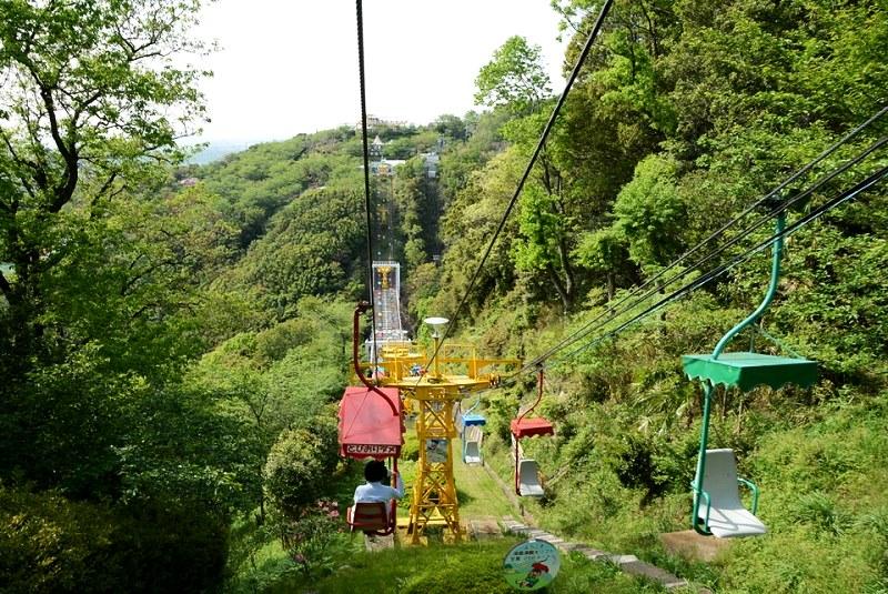 須磨浦山上遊園の観光リフト