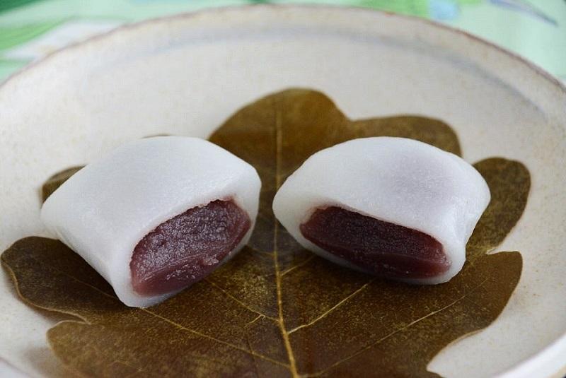 朔日餅(5月)かしわ餅の餡子