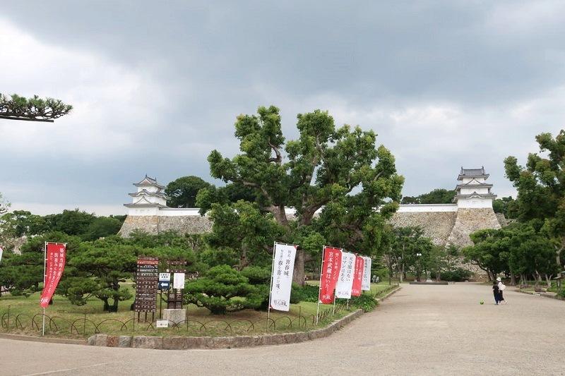 明石城の外観