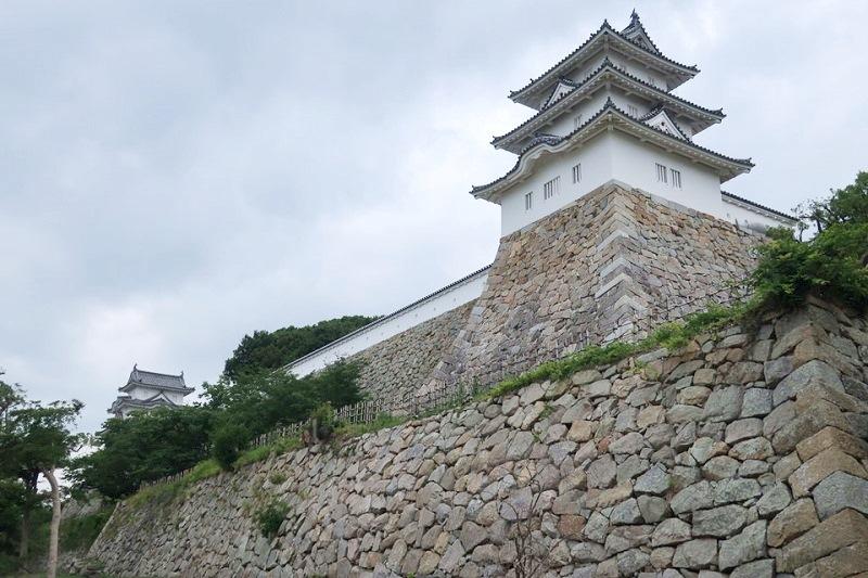 巽櫓(たつみやぐら)と石垣