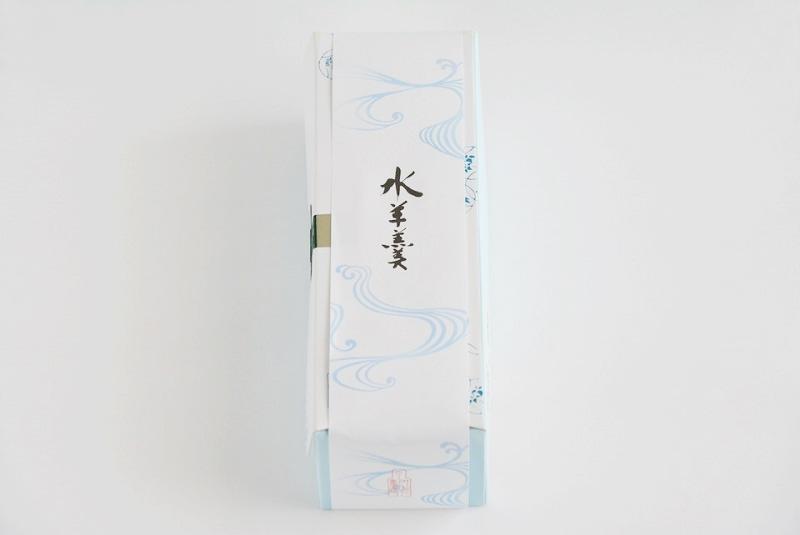叶匠寿庵の水羊羹の外装