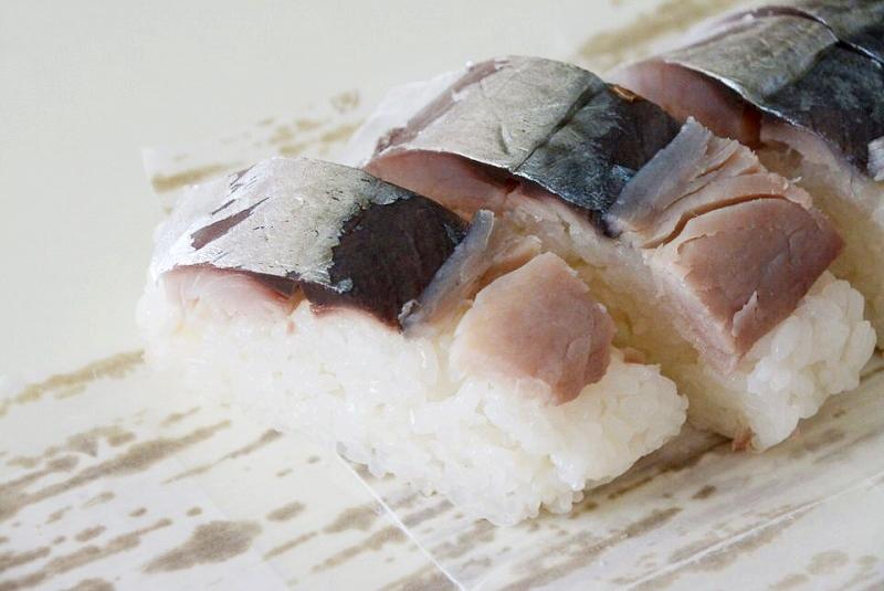 マイスター工房八千代の鯖寿司(カット済み