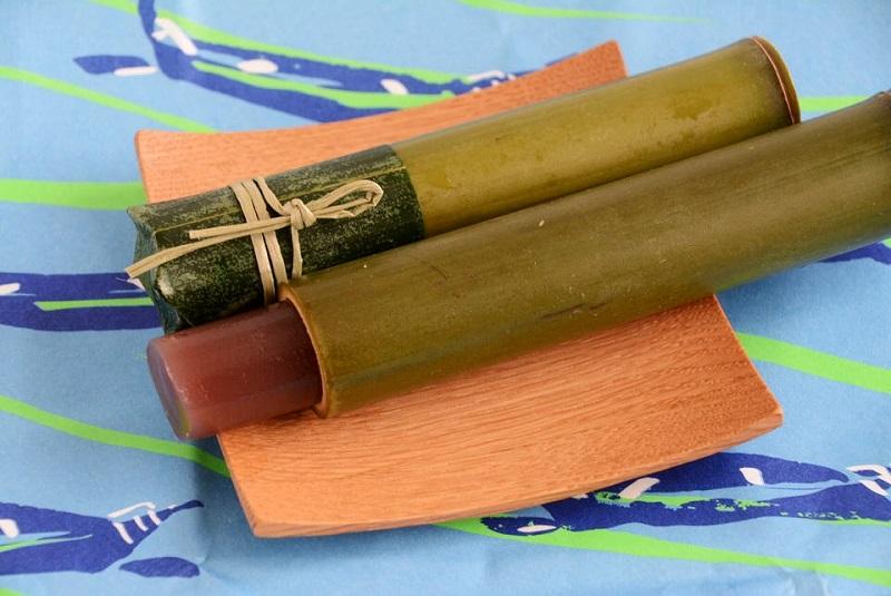 朔日餅(7月)「竹流し」