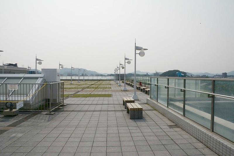 イーグレ姫路の屋上
