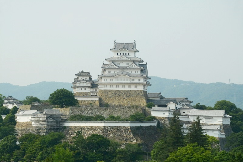 イーグレ姫路から見える姫路城の大天守閣