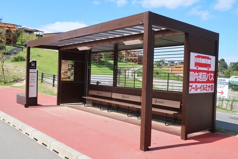 ネスタリゾート神戸内にあるバス停