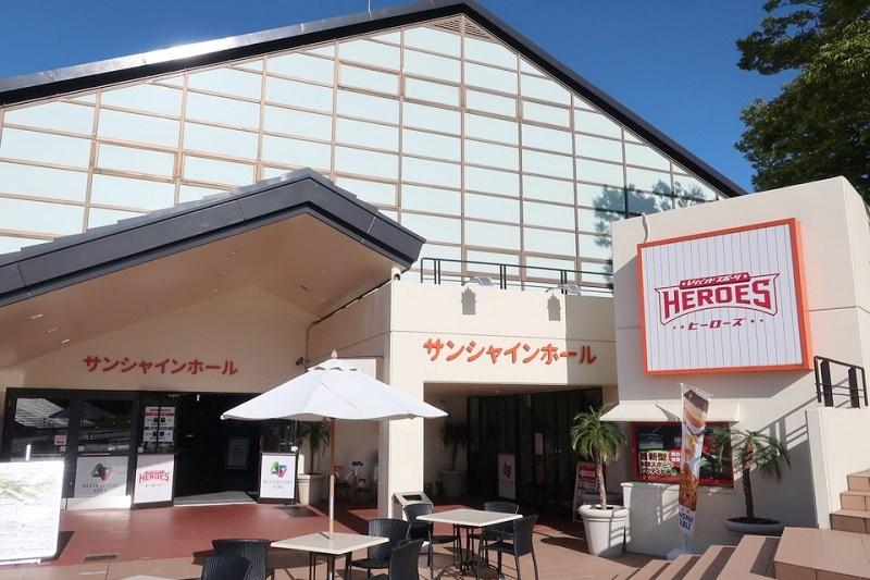 ネスタリゾート神戸「サンシャインホール」の外観
