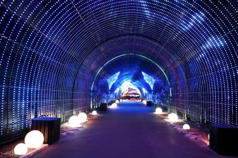 ネスタリゾート神戸のイルミネーション「ヒカリの旅」