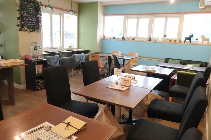 vergan cafe Thallo(ヴィーガンカフェタロ)の店内