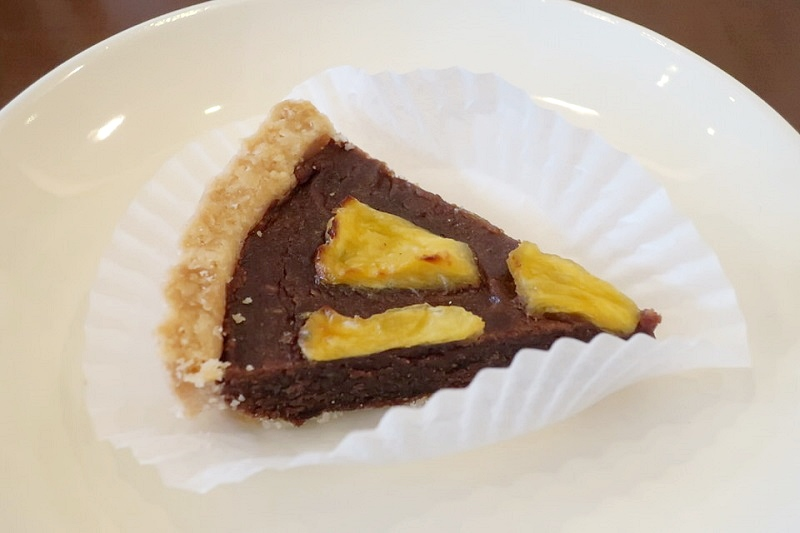 vergan cafe Thallo(ヴィーガンカフェタロ)のパイナップルチョコタルト