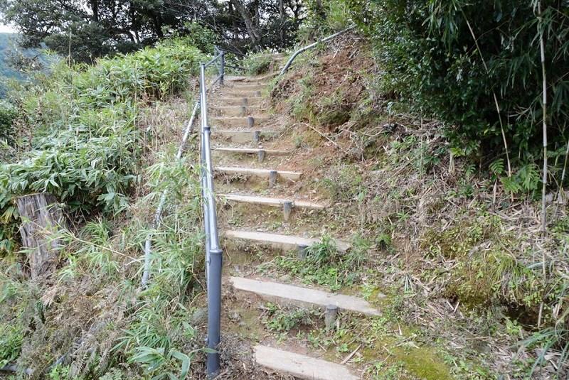 展望台へつづく階段