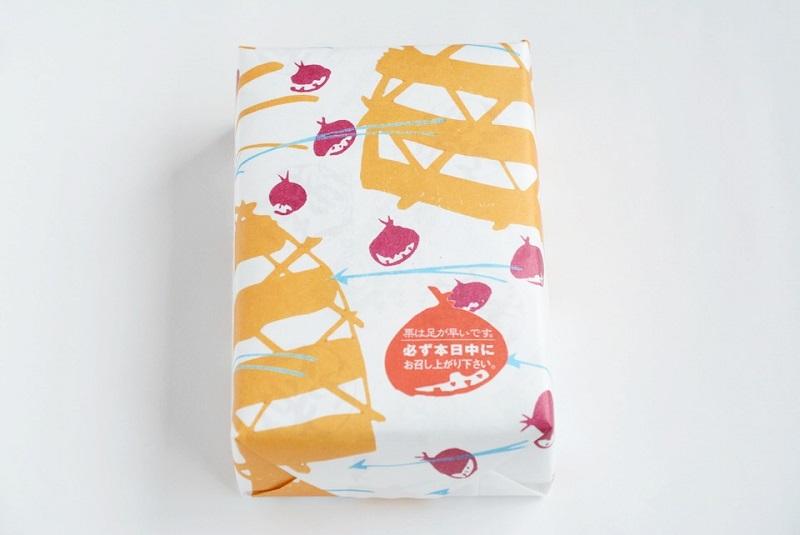 朔日餅(10月)栗餅の外箱