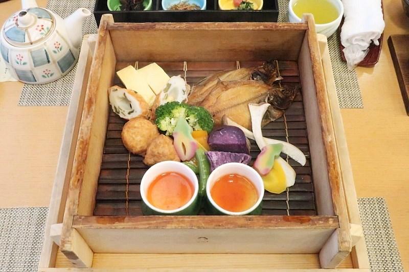 ゆあむの朝食(蒸籠蒸し)