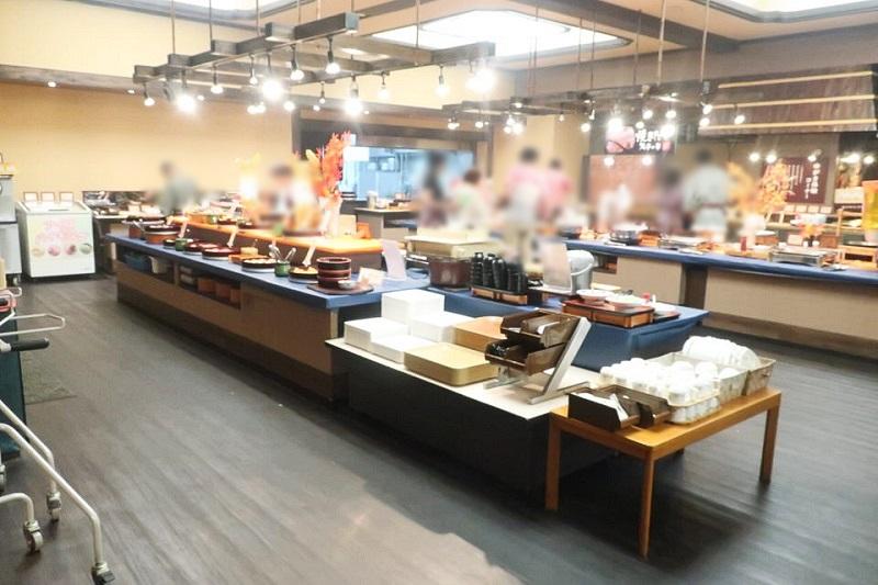湯村温泉三好屋の食事処