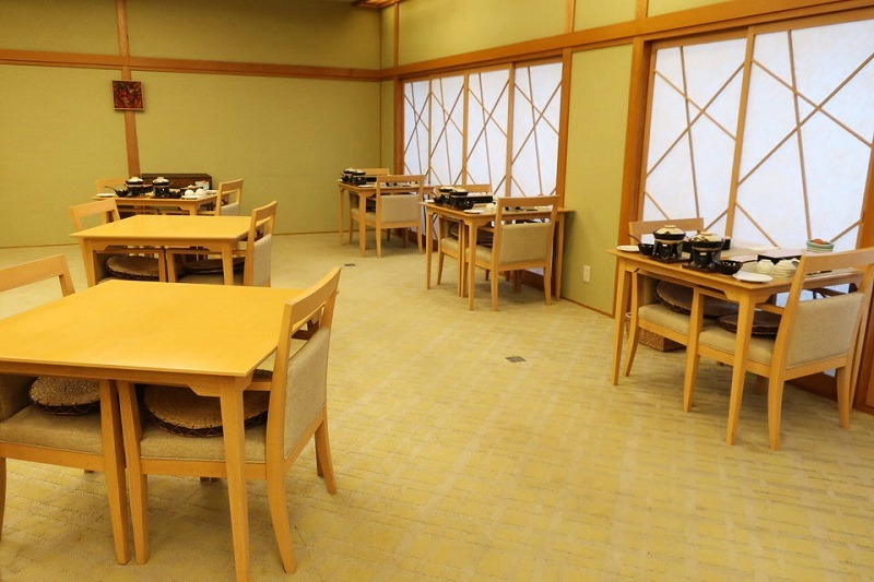 湯村温泉ゆあむの食事会場