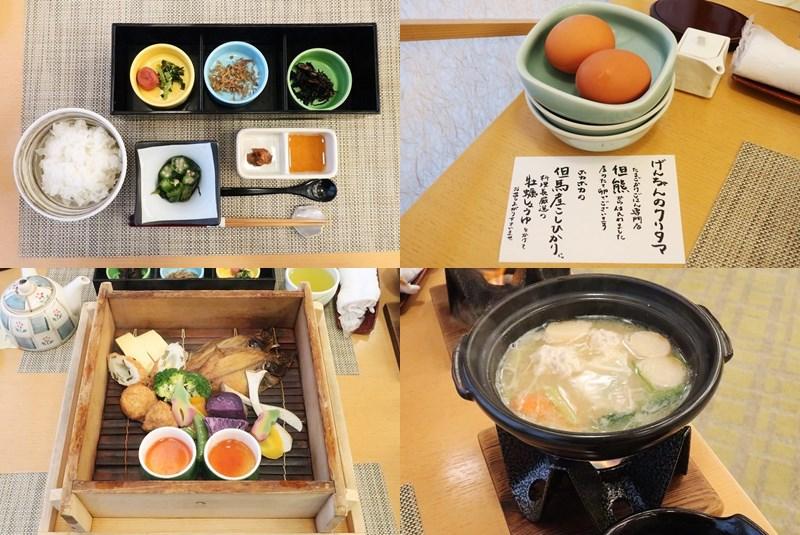 湯村温泉ゆあむの朝食