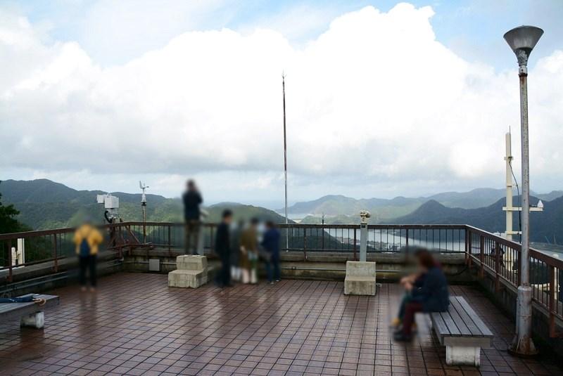 城崎温泉ロープウェイの展望台