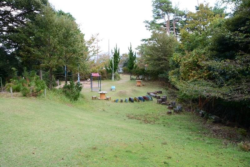 城崎ロープウェイの山頂にある公園