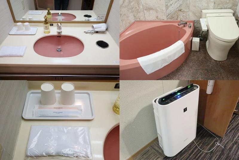 大江戸温泉きのさきの洗面所・トイレ・アメニティ