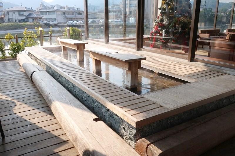 湯快リゾート嬉野館の足湯