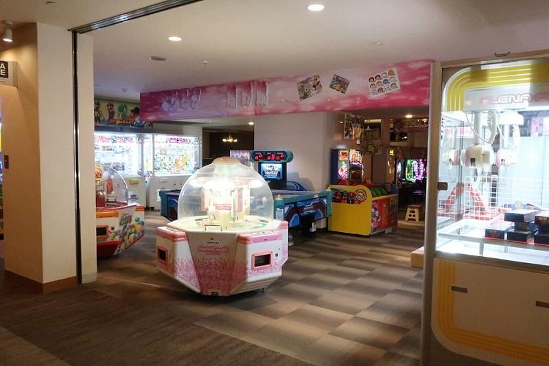 湯快リゾート嬉野館のゲームセンター